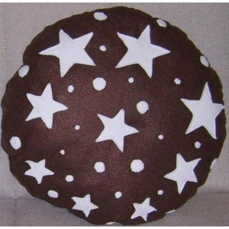 Pan Di Stelle Cuscino.Cuscini Biscotto Pan Di Stelle